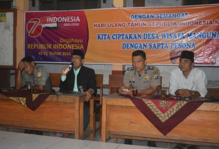 Malam Tirakatan Hari Ulang Tahun Kemerdekaan republik Indonesia yang Ke 71