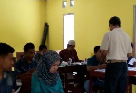 Pemerintah Desa Mangunan Menyelenggarakan Pelatihan Bahasa Inggris Bagi Para Pengelola Destinasi Wis