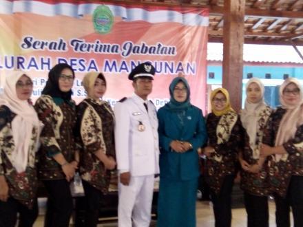 H. Jiyono Ikhsan, S. Sos Kembali Pimpin Desa Mangunan Periode 2018-2024