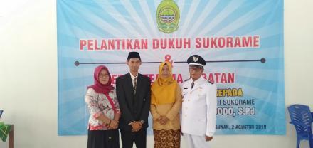 Widodo, S.Pd, Resmi Jabat Dukuh Dusun Sukorame